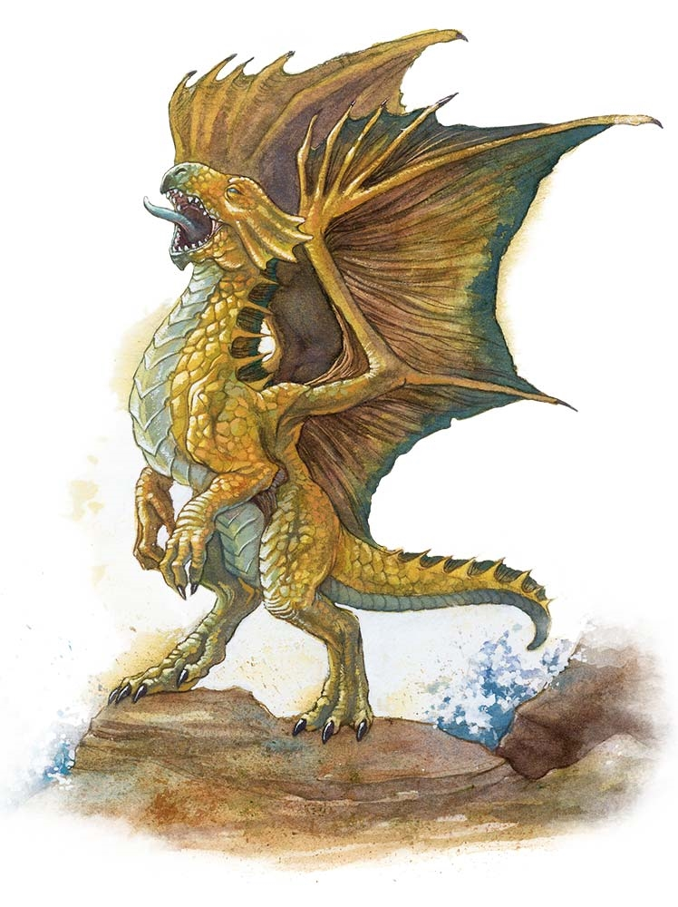 Dnd 5e gold dragon wrymling steroid man breasts