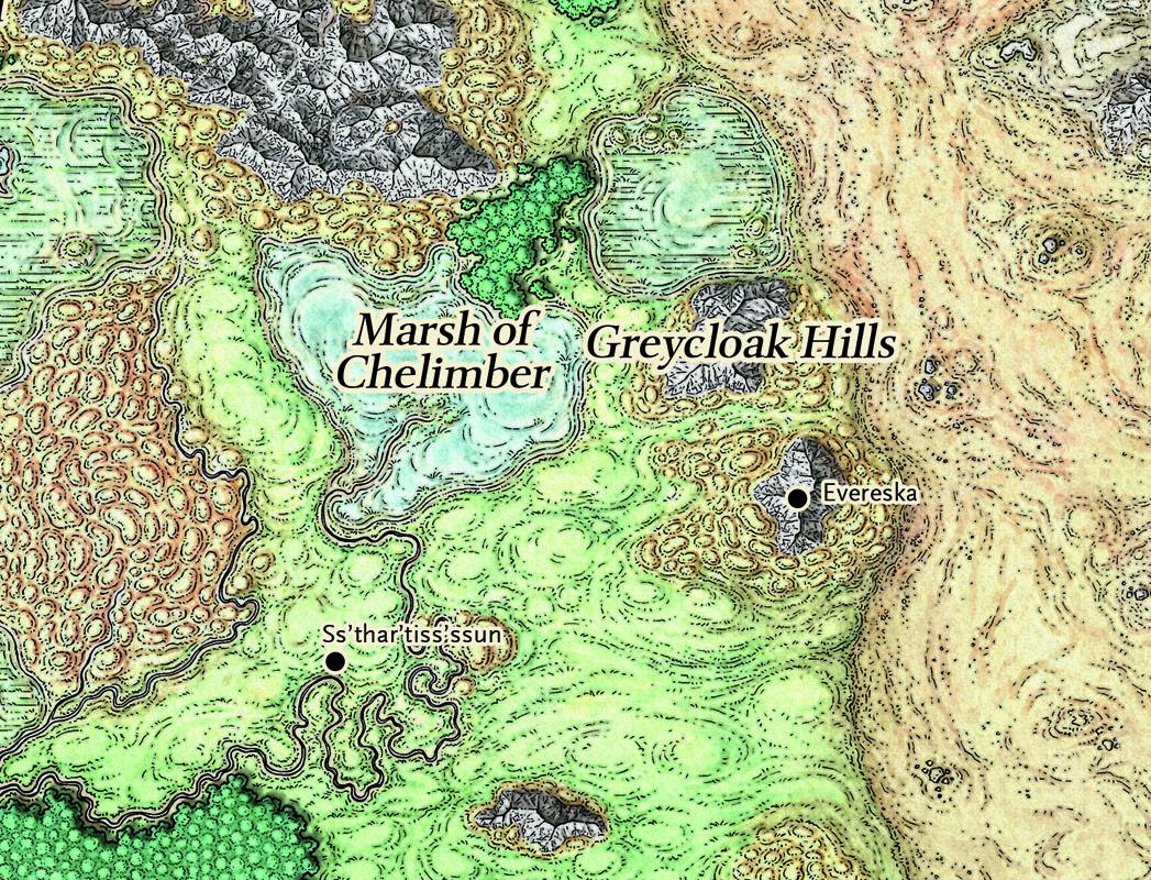Map of mirabar
