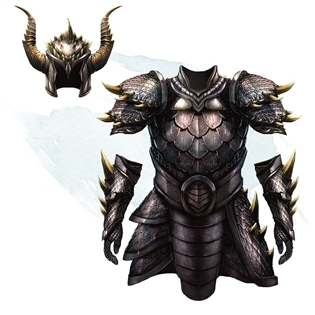 Golden dragon scale armor dog steroids itching